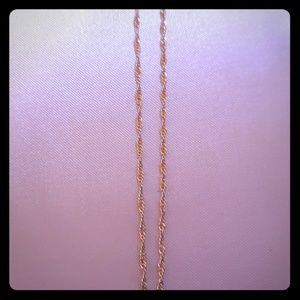 """Jewelry - 20"""" Sterling Silver Rope Chain"""